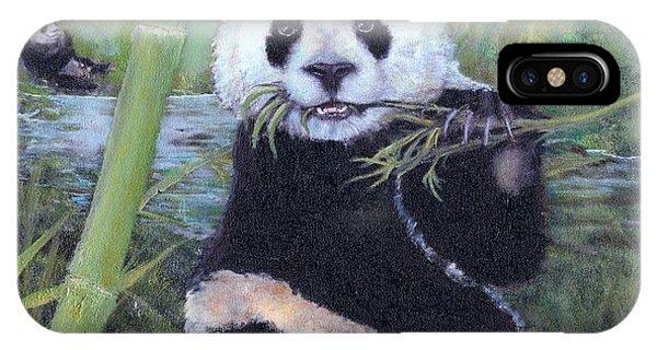 Panda Buffet IPhone Case
