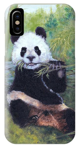 Panda Buffet IPhone Case