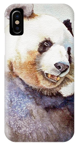 Panda Eating IPhone Case