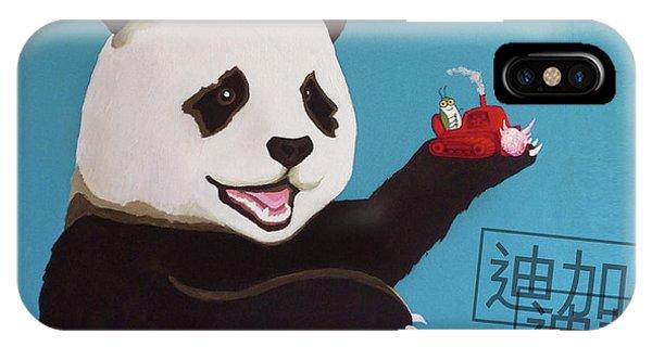 iPhone Case - Panda Joy Blue by Kato D