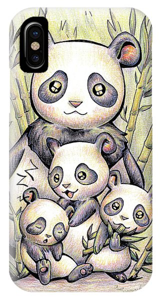 Endangered Animal Giant Panda IPhone Case
