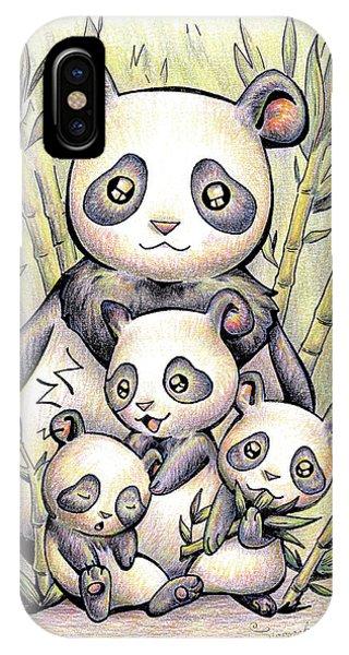 Endangered Animal Giant Panda IPhone Case