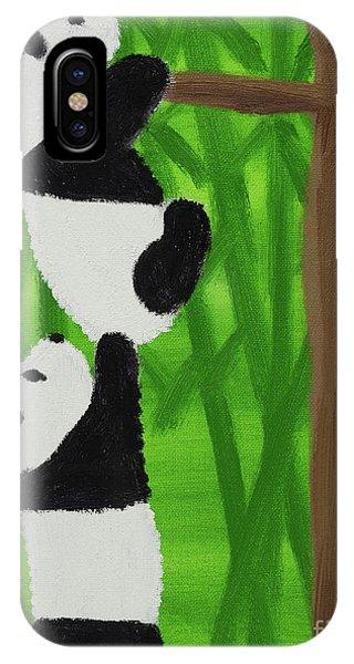 Pandas IPhone Case