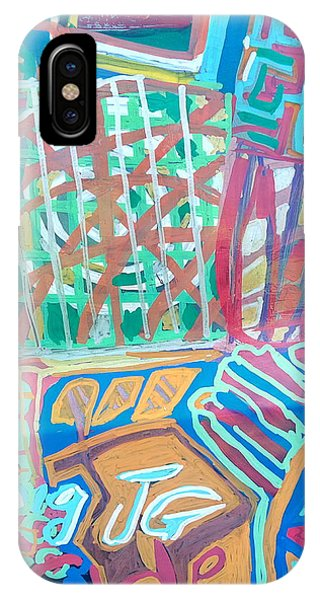 Panel Of Hand Painted Mondeo IPhone Case
