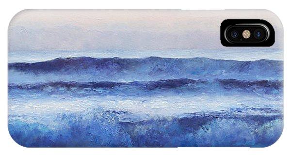 Panorama Ocean Painting IPhone Case