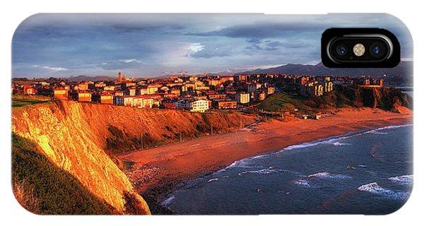 Panorama Of Aixerrota Sunset IPhone Case