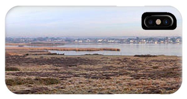 iPhone Case - Panorama Of Christchurch Harbour by Chris Day