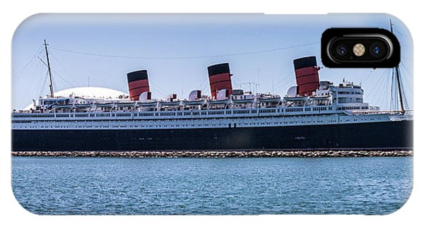 Panorama Of The Queen Mary IPhone Case