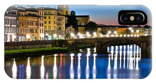 Panoramic Florence Italy IPhone Case