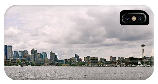 Panoramic Seattle IPhone Case
