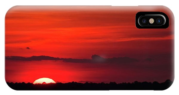Panoramic Sunset IPhone Case