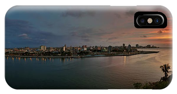 Panoramic View Of Havana From La Cabana. Cuba IPhone Case