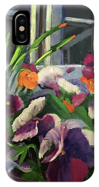 Pansy Frenzy IPhone Case