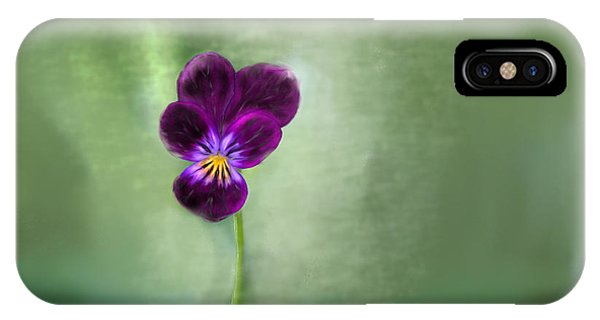 Pansy IPhone Case