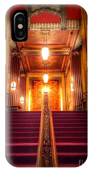Pantages Theater's Grand Staircase IPhone Case