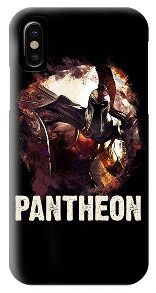 Nerd iPhone Case - Pantheon - League Of Legends by Dusan Naumovski