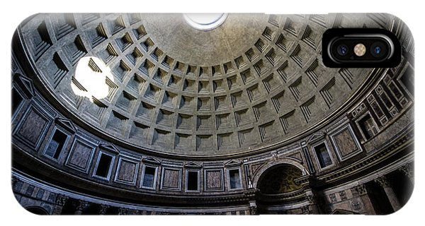 Temple iPhone Case - Pantheon by Nicklas Gustafsson
