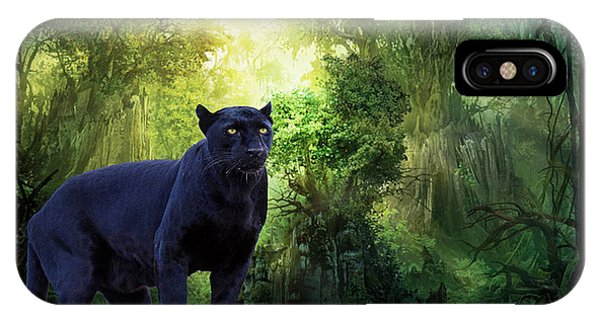 Panther Alert IPhone Case
