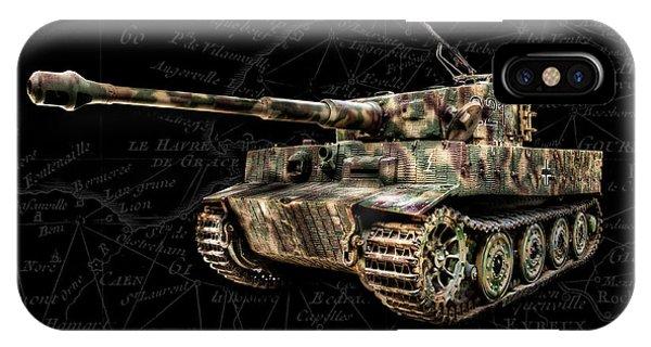 Panzer Tiger I Side Bk Bg IPhone Case
