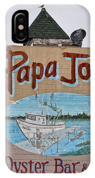 Oyster Bar iPhone Case - Papa Joe's by Jurgen Lorenzen