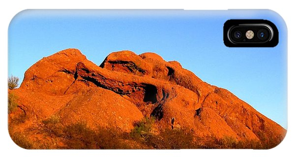IPhone Case featuring the photograph Papago Park 2 by Michelle Dallocchio