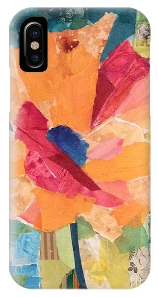 Paper Poppy IPhone Case