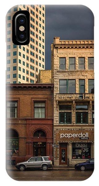 Paperdoll Phone Case by Bryan Scott