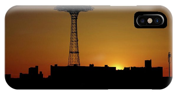 Parachute Jump Coney Island IPhone Case