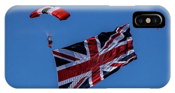 Parachutist IPhone Case