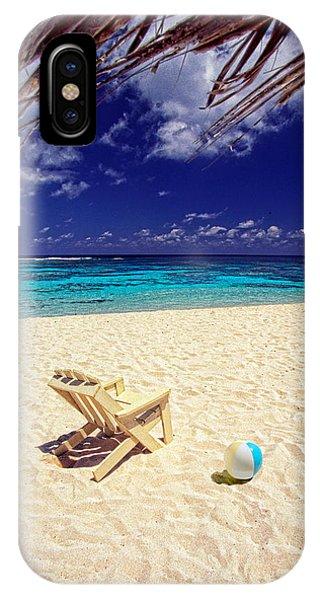 Paradise Beach Ball IPhone Case