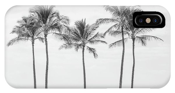 Paradise In Black And White II IPhone Case