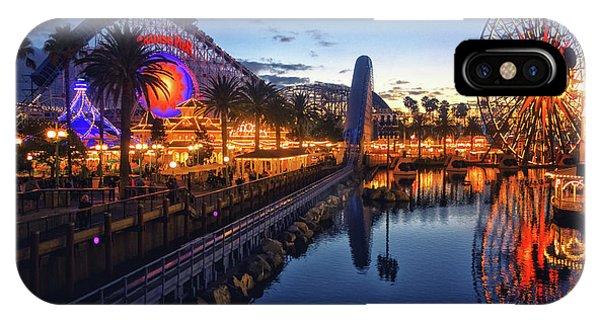 Paradise Pier Sunset IPhone Case