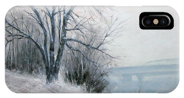 iPhone Case - Paradise Point Bridge Winter by Jim Gola