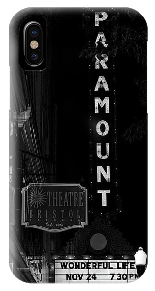 Paramount Marquee Bristol Tennessee IPhone Case
