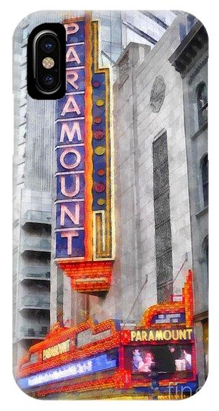 Paramount Theater Boston Ma IPhone Case