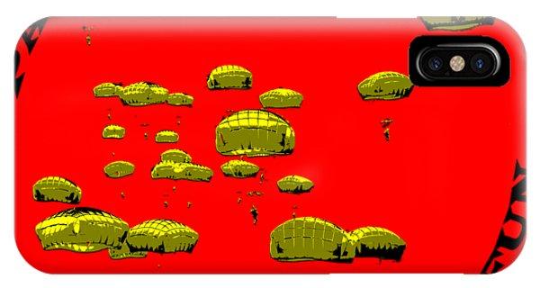 Paratrooper Fun IPhone Case