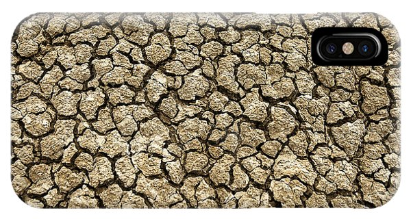 Parched Soil IPhone Case