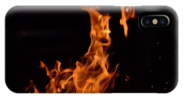 Pareidolia Fire IPhone Case