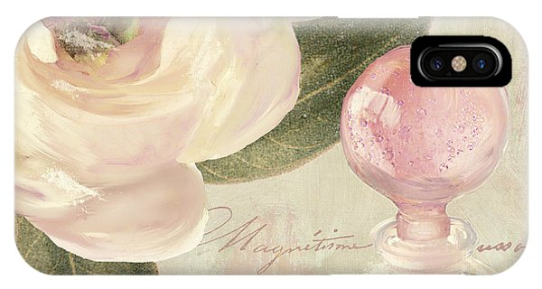 Perfume Bottles iPhone Case - Parfum De Roses II by Mindy Sommers