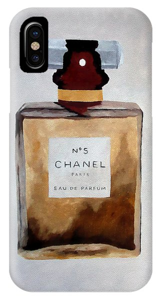 Perfume iPhone Case - Parfum No.5 by My Inspiration
