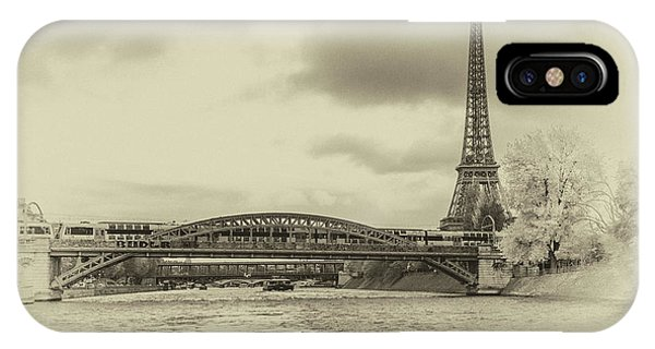 Paris 2 IPhone Case
