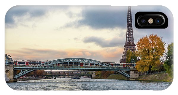 Paris 3 IPhone Case