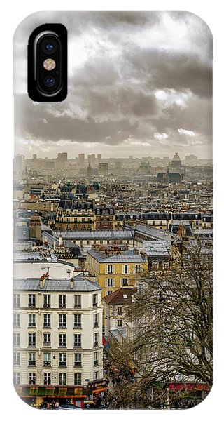 Paris As Seen From The Sacre-coeur IPhone Case