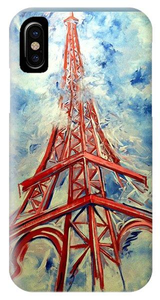 Paris Backdrop IPhone Case