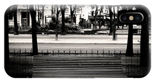 Paris Bench IPhone Case