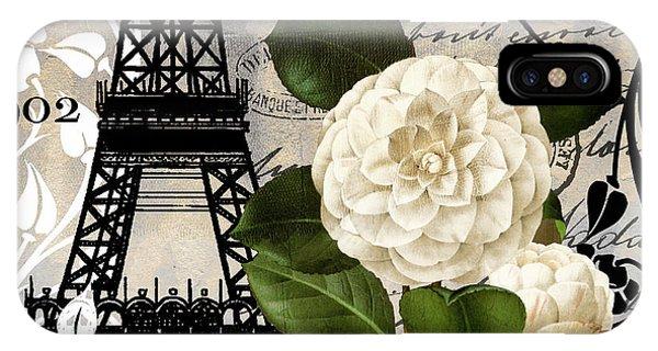Paris iPhone Case - Paris Blanc I by Mindy Sommers
