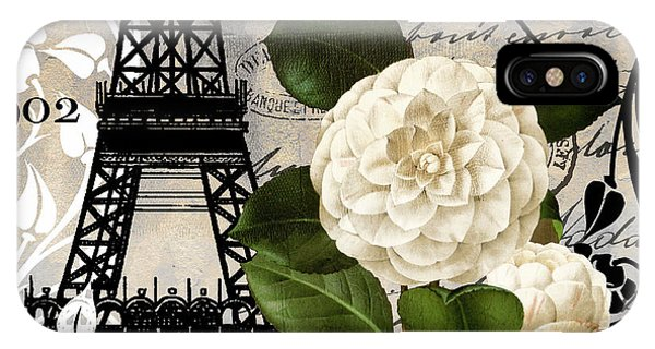 Paris iPhone Case - Paris Blanc I by Mindy Sommers