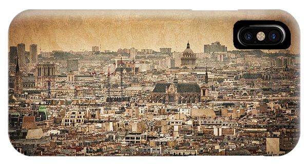 Paris Skyline IPhone Case
