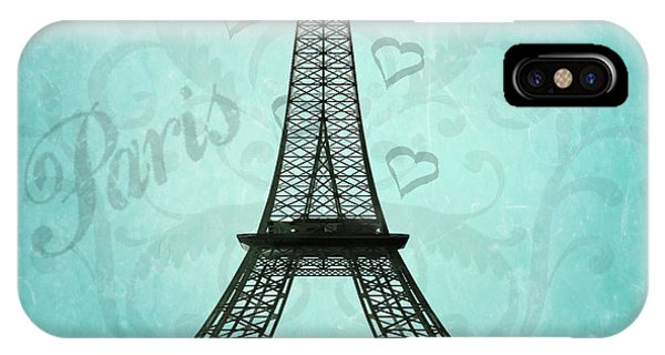 Paris Collage IPhone Case