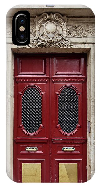 Paris Doors No. 17 - Paris, France IPhone Case